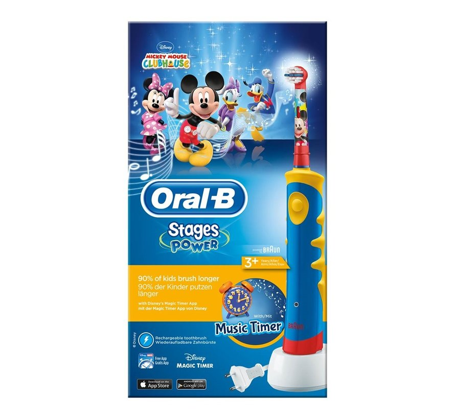 Oral-B Stages Power Kids Disney Mickey Mouse
