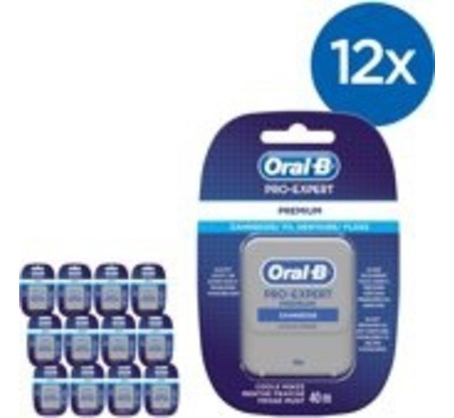 Oral-B Pro Expert Premium Floss - 12 Stuks - Voordeelverpakking