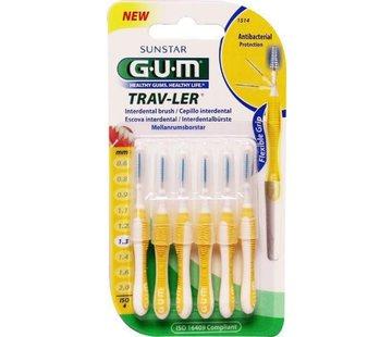 GUM Gum Travler Ragers - 1.3mm Geel