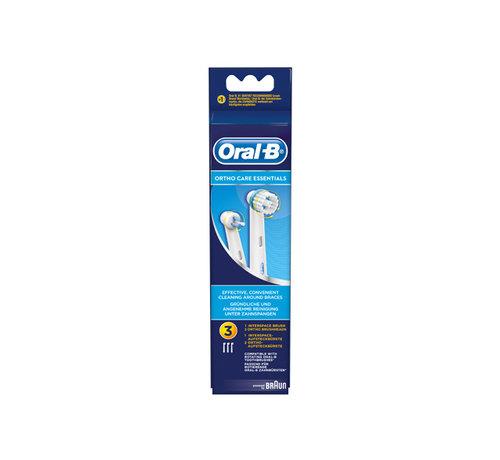 Oral-B Oral-B Ortho Opzetborstels 4 x 3 Stuks - Voordeelverpakking