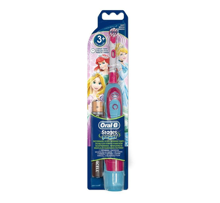Oral-B Stages Power Kids Tandenborstel Op Batterijen - Princess