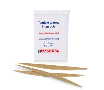 Lactona Lactona Intersticks Tandenstokers