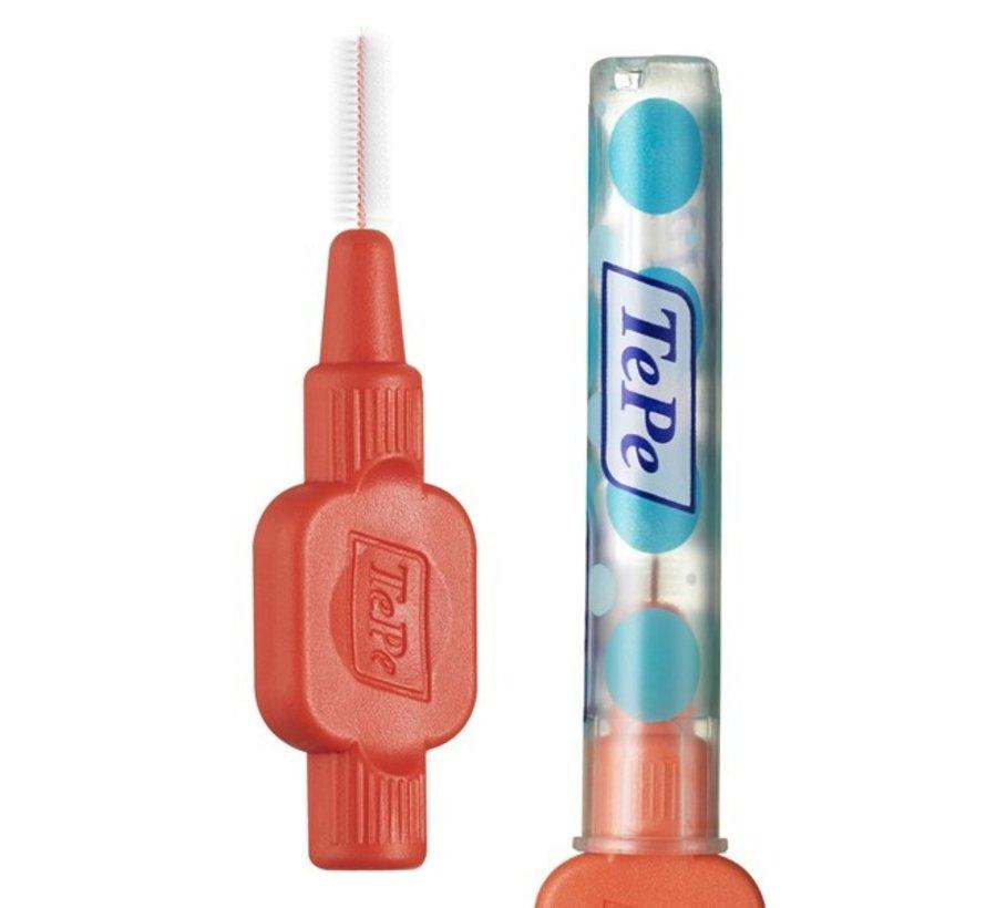TePe Tandenragers Extra Soft 0.5 mm Lichtrood - 25 stuks