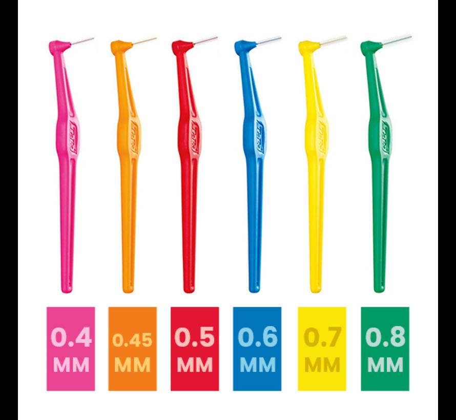 TePe Angle Tandenragers 0.8 mm Groen - 6 stuks