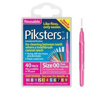 Piksters Piksters 00 Roze 0.32mm - 40 Stuks