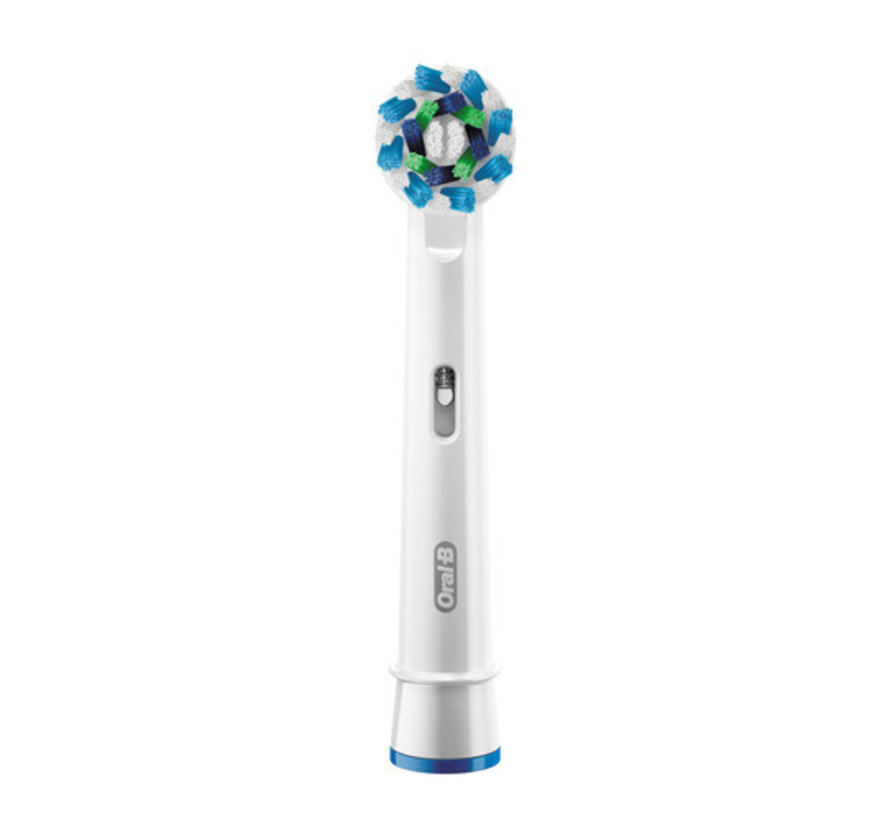 Oral-B Cross Action Opzetborstels Wit  - 8 Stuks