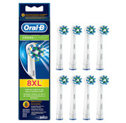 Oral-B Oral-B Cross Action Opzetborstels Wit  - 8 Stuks