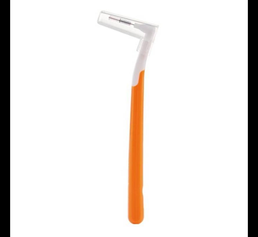 Interprox Plus Super Micro 2mm Oranje - 3 x 6 stuks - Voordeelverpakking