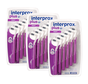 Interprox Plus Maxi 4.2mm-5.7mm Paars - 3 x 6 stuks - Voordeelverpakking