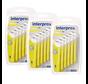 Interprox Plus Mini 3mm Geel - 3 x 6 stuks - Voordeelverpakking