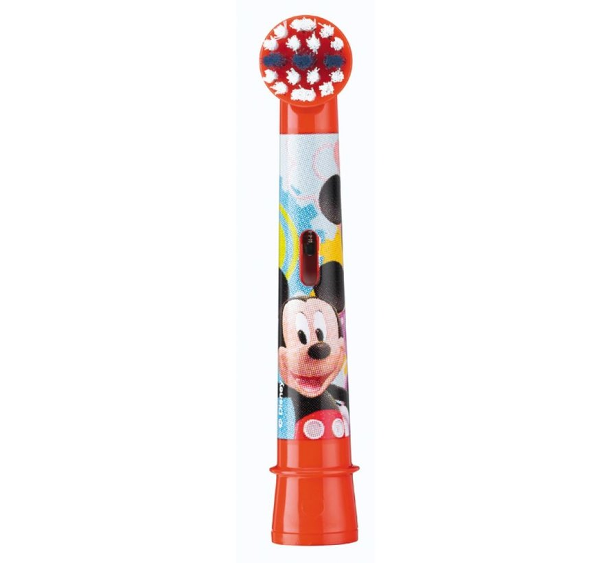 Oral-B Stages Power Kids Opzetborstels Mickey Mouse - 2 stuks