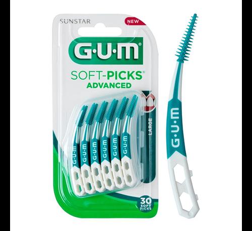 GUM Gum Soft-Picks Advanced Large - 30 Stuks