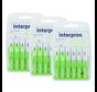 Interprox Premium Micro 2.4mm, Groen - 3 x 6 stuks - Voordeelverpakking
