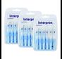 Interprox Premium Cylindrical 3.5mm Lichtblauw - 3 x 6 stuks - Voordeelverpakking
