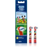 Oral-B Oral-B Stages Power Kids Opzetborstels Mickey Mouse - 2 stuks