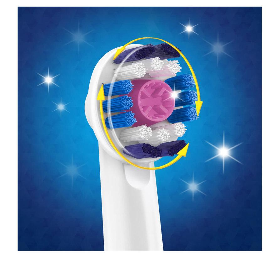 Oral-B 3DWhite Opzetborstels - 4 Stuks