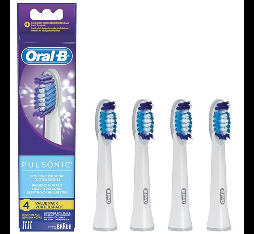 Oral-B Pulsonic Opzetborstels - 4 stuks