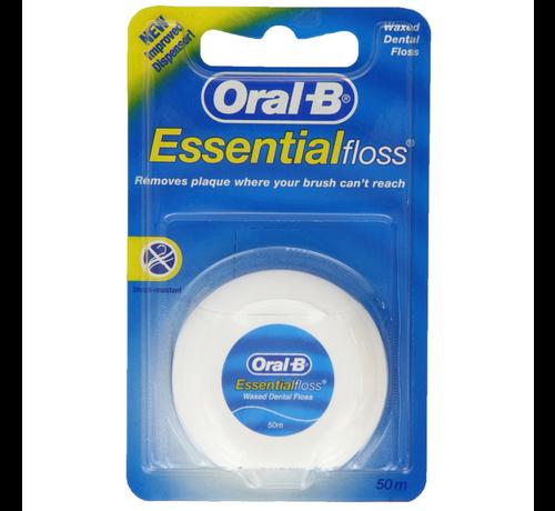 Oral-B Oral-B Essential Floss - 50 meter - 3 stuks - Voordeelverpakking
