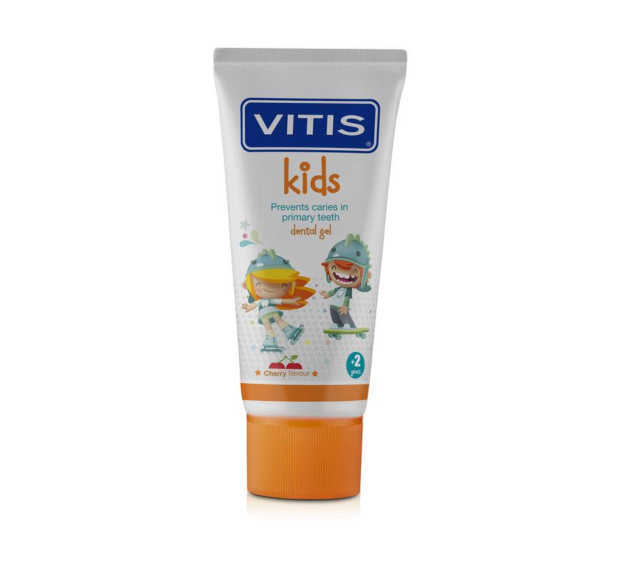 Vitis Kids Gel - kindertandpasta voor melktanden