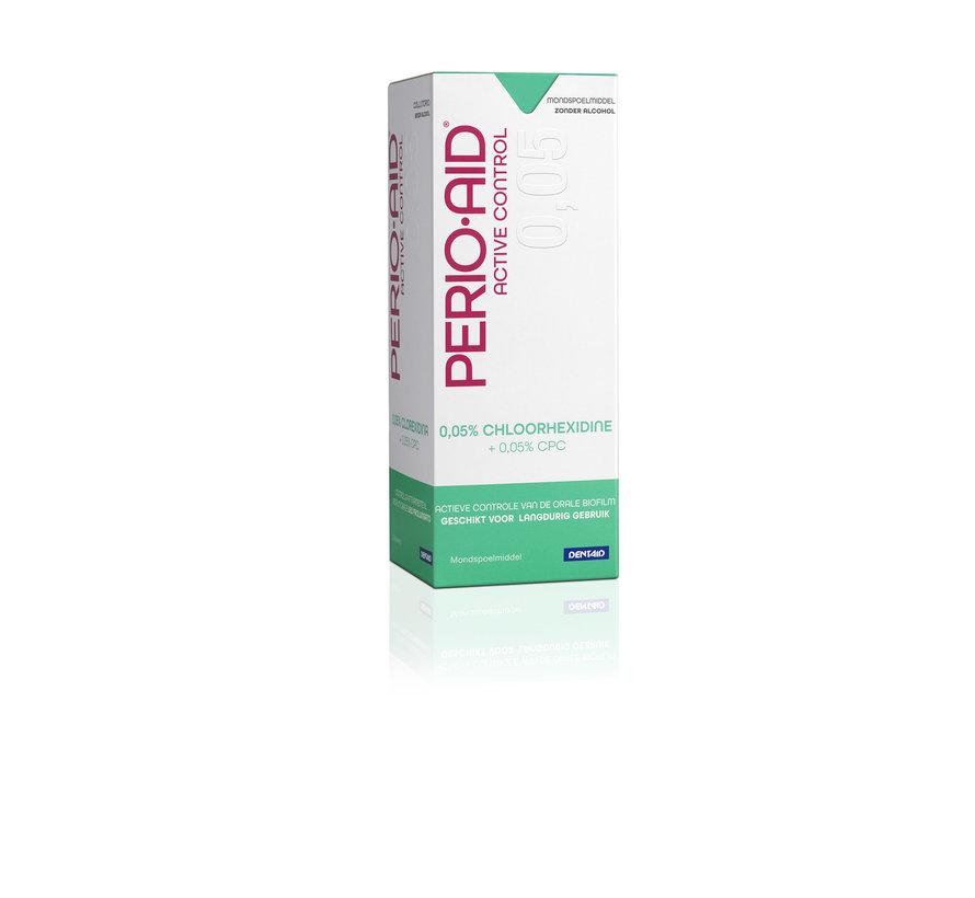 2x Perio-Aid Active Control 0,05% Mondspoelmiddel  - Copy
