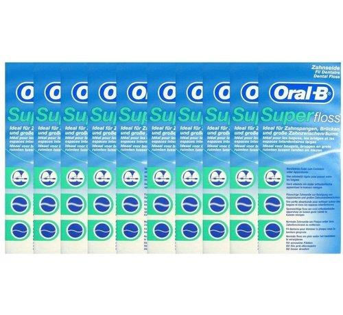 Oral-B Oral-B Superfloss- 10 Stuks - Voordeelverpakking - Copy - Copy