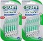 Gum Soft Picks Advanced Regular - 2 X 30 Stuks - Ragers - Voordeelverpakking  - Copy - Copy