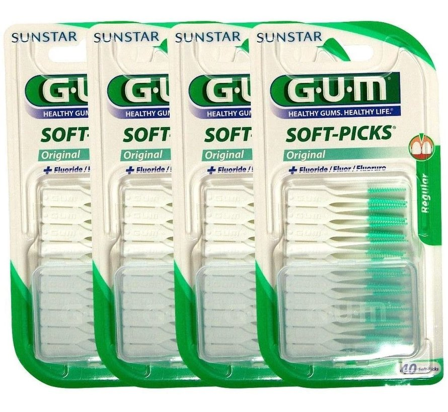 Gum Soft-Picks Regular - 4 Stuks