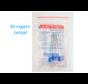 Lactona EasyDent Type C 6 - 11mm - Ragers - 6 gripzak x 5 stuks - Met gratis beschermhouder - Voordeelpakket