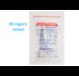 Lactona Interdentaal Ragers - Medium 5mm - Blauw - 10 gripzak x 5 stuks - Met gratis beschermhouder - Voordeelpakket