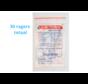 Lactona Interdentaal Ragers - XXX-Small 2mm - Zilver - 6 gripzak x 5 stuks - Met gratis beschermhouder - Voordeelpakket