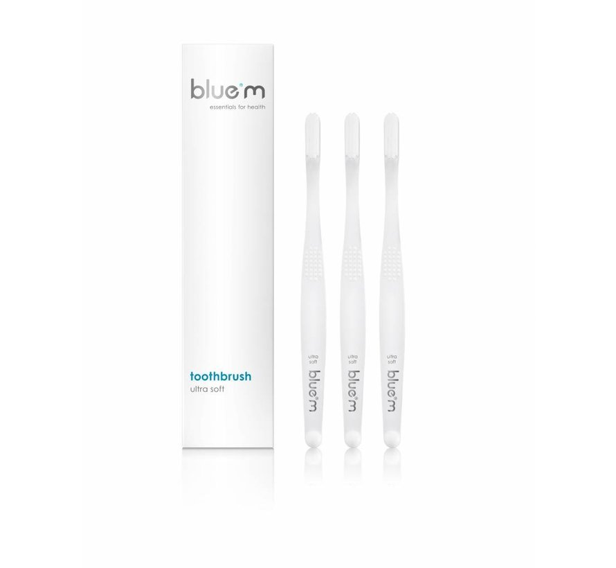 Bluem Tandenborstel Ultra Soft - 3 Stuks