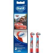 Oral-B Oral-B Stages Power Kids Opzetborstels Cars - 2 stuks