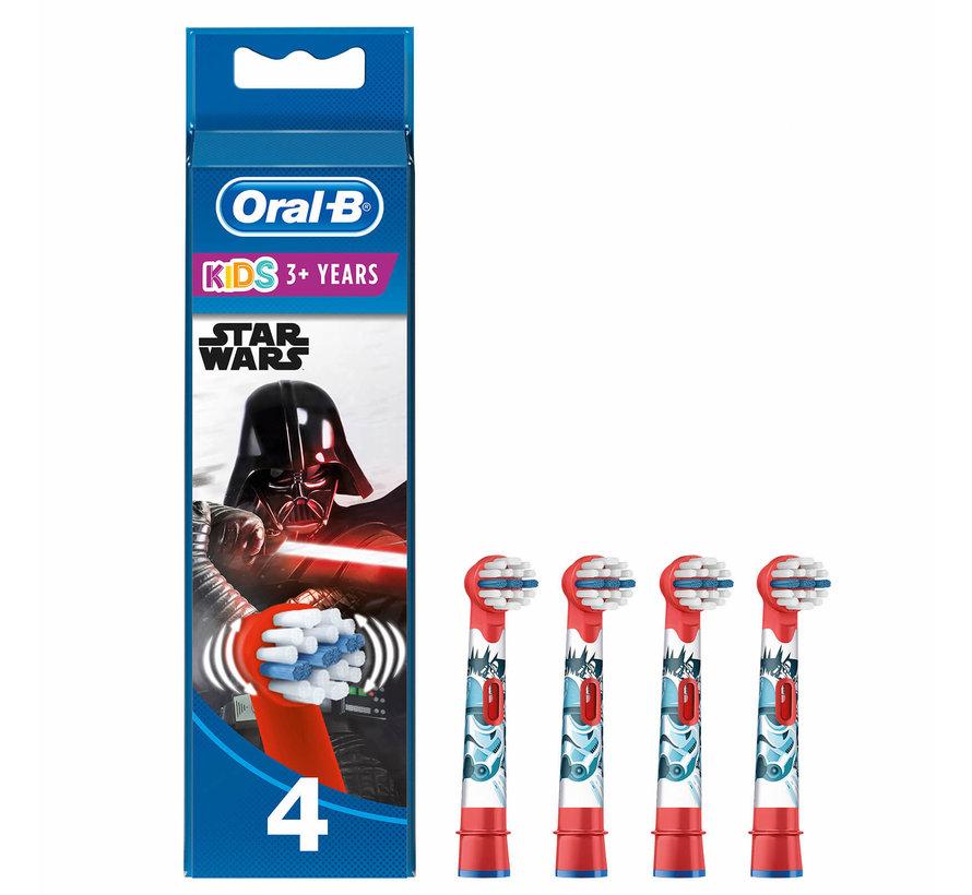 Oral-B Opzetborstels Kids Star Wars - 4 Stuks