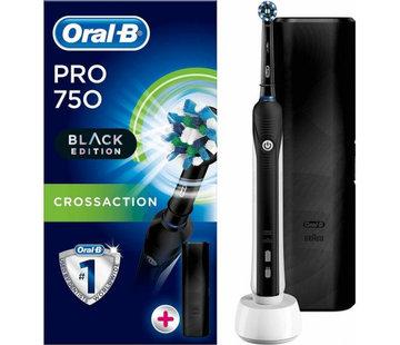Oral-B Oral-B PRO 750 Black Edition Cross Action