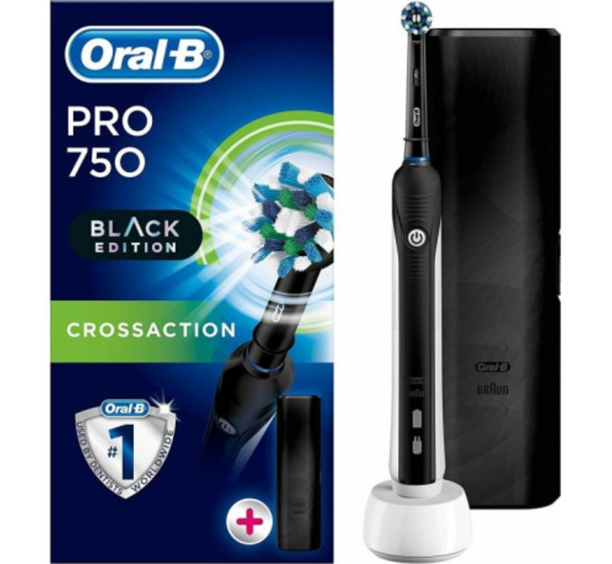 Oral-B PRO 750 Black Edition Cross Action
