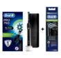 Oral-B PRO 750 Black Edition Cross Action + 4 Extra Cross Action opzetborstels