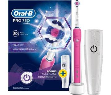 Oral-B Oral-B PRO 750 3D White + Reisetui