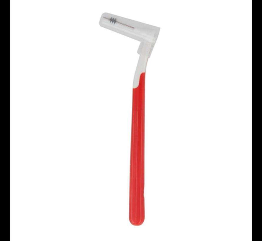 Interprox Plus Mini Conical - 2 tot 4 mm - Rood 3 x 6 stuks - Voordeelpakket