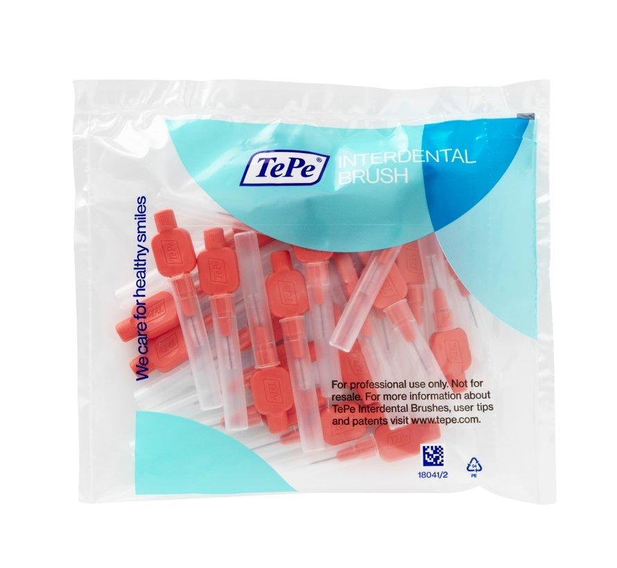 TePe Extra Soft Rood 0,50mm 3 x 25 stuks - Voordeelverpakking  - *Beste Koop*
