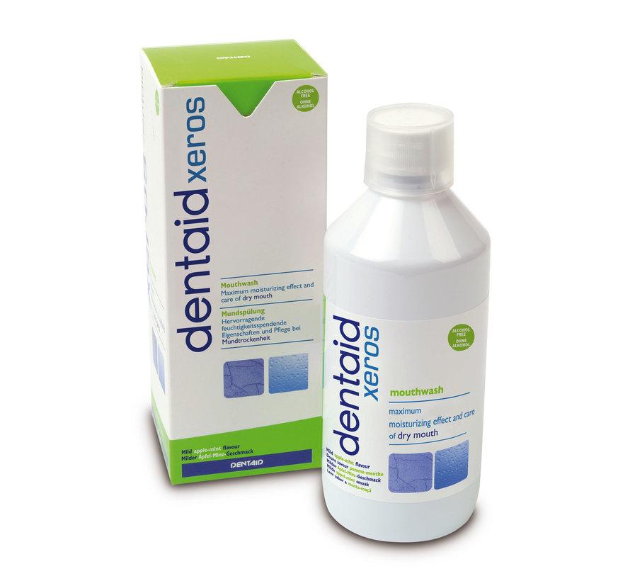 3x Dentaid Xeros Mondwater - 500 ml - Effectief tegen droge mond - Voordeelpakket