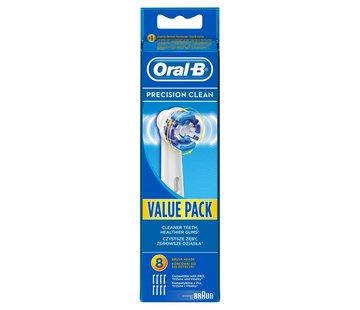 Oral-B Oral-B Precision Clean Opzetborstels - 8 stuks