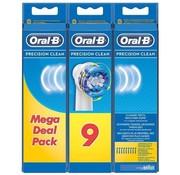 Oral-B Oral-B Precision Clean Opzetborstels - 9 stuks