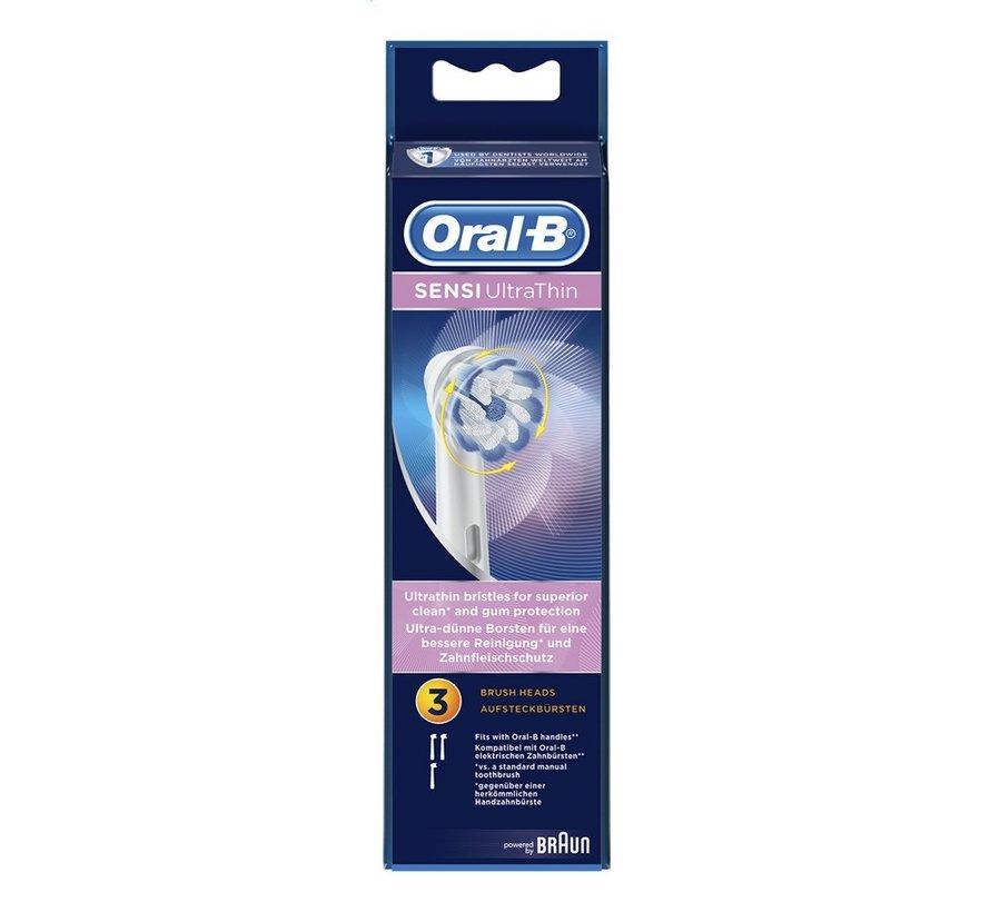 Oral-B Sensi UltraThin Opzetborstels - 8 Stuks