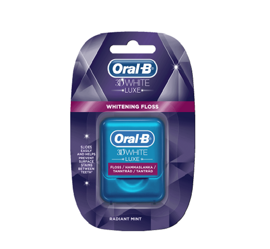 Oral-B 3D White Luxe Whitening Floss 35m
