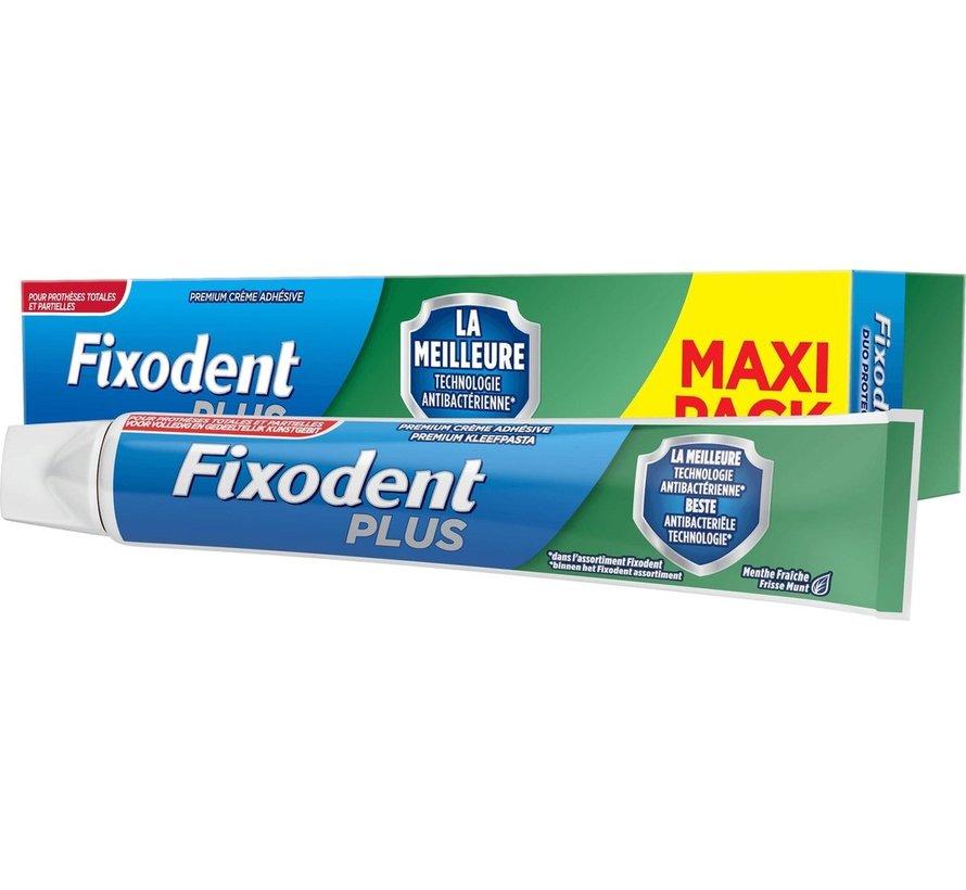 Fixodent Plus Duo Bescherming Antibacterieel Kleefpasta 57 gram