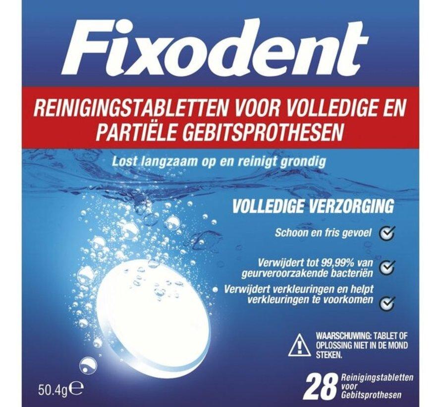 Fixodent Reinigingstabletten - Volledige Verzorging