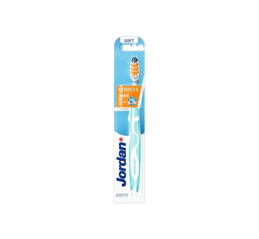 3x Jordan Advanced Soft - Tandenborstel - Voordeelverpakking