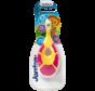 Jordan Step By Step 1  - 4x Tandenborstel (0-2 jaar) Kleur Roze/Geel met 2x Jordan Tandpasta 0-5 jaar