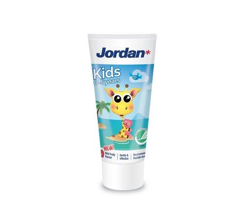 Jordan Jordan Tandpasta Kids (0-5 jaar) - 4 stuks - Voordeelverpakking