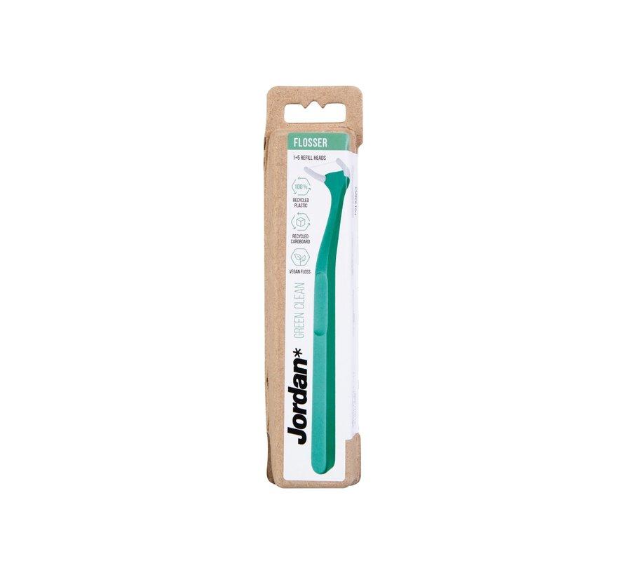 Jordan Flossertool Green Clean - 3 stuks - Voordeelverpakking